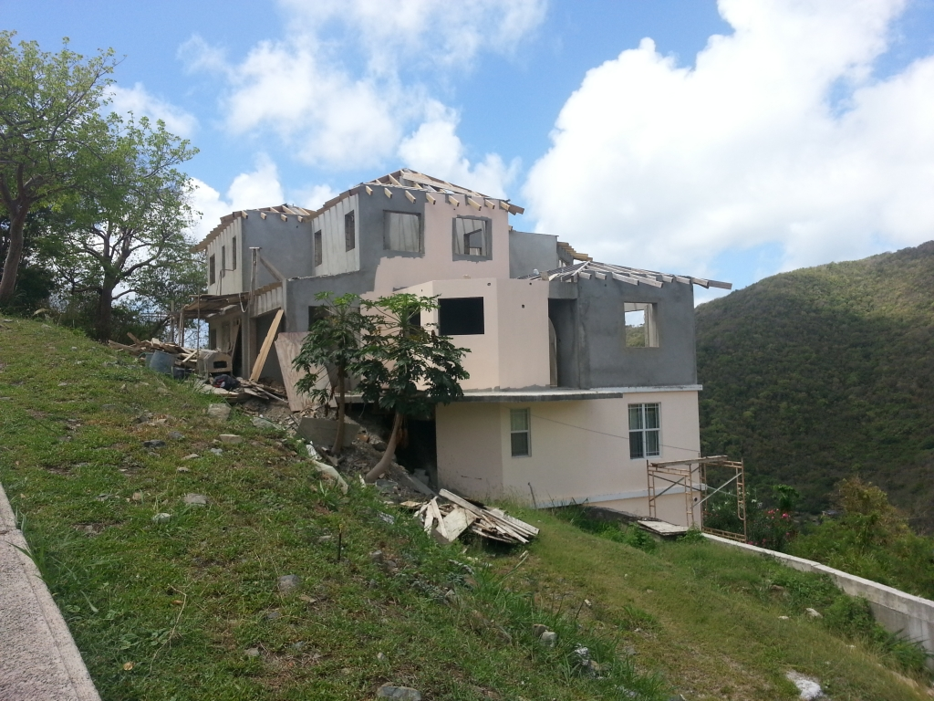 building a home in the Caribbean