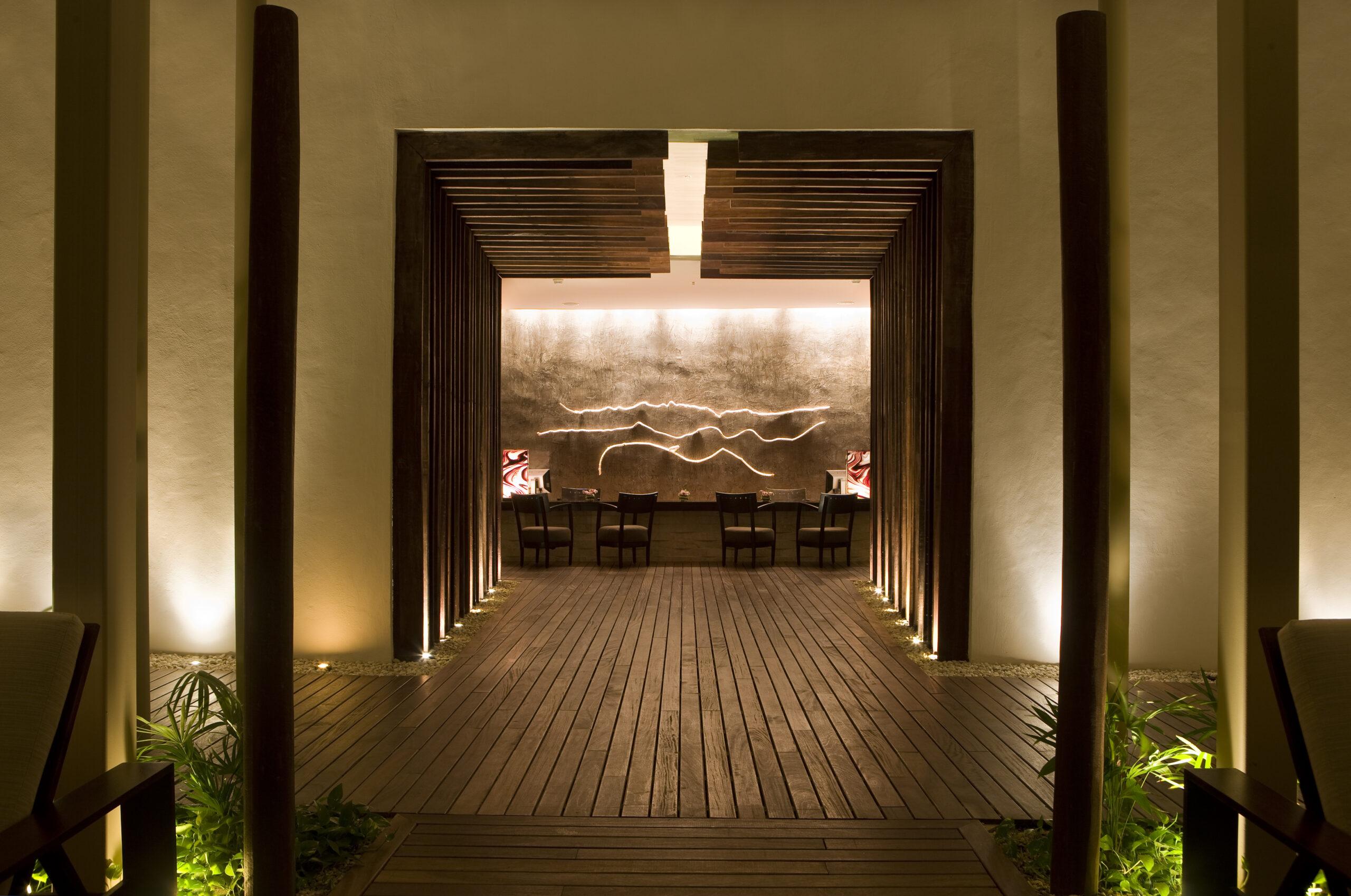 grand spa entrance