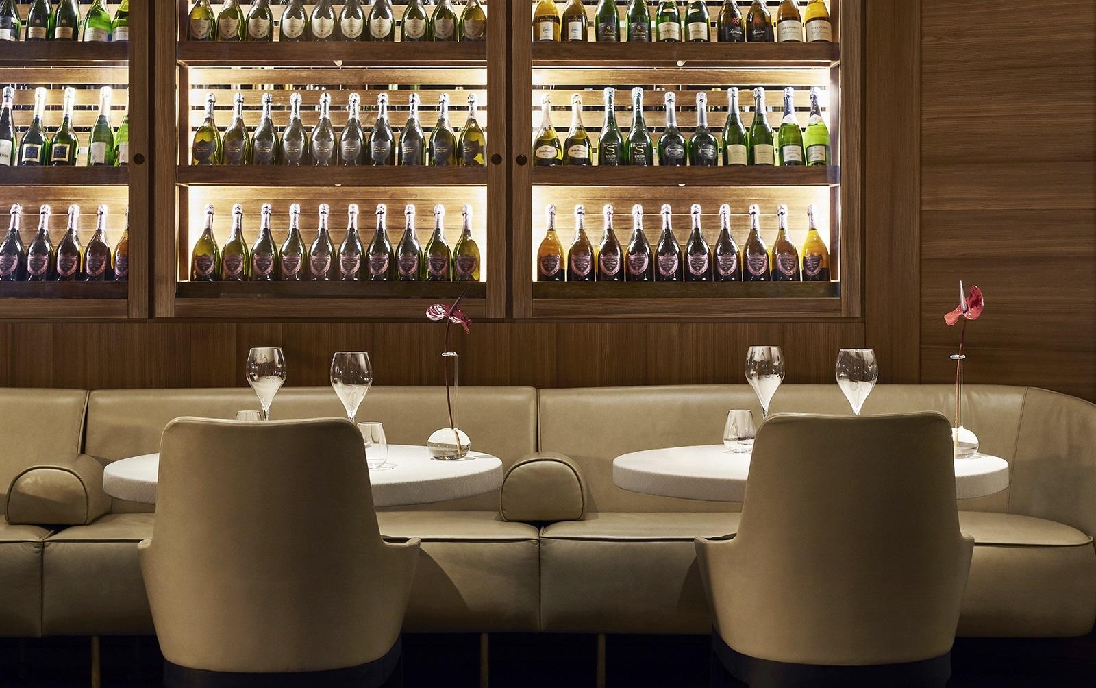 Park Hyatt Milan wine cellar