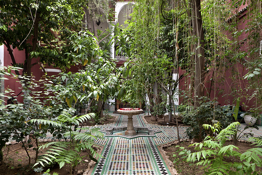 Garden at Riad Kaiss by Sanssouci Collection
