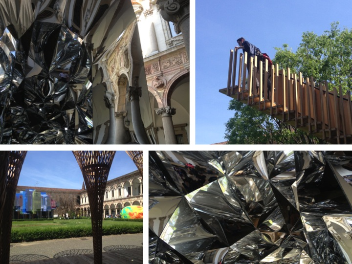 Installations at University of Milan