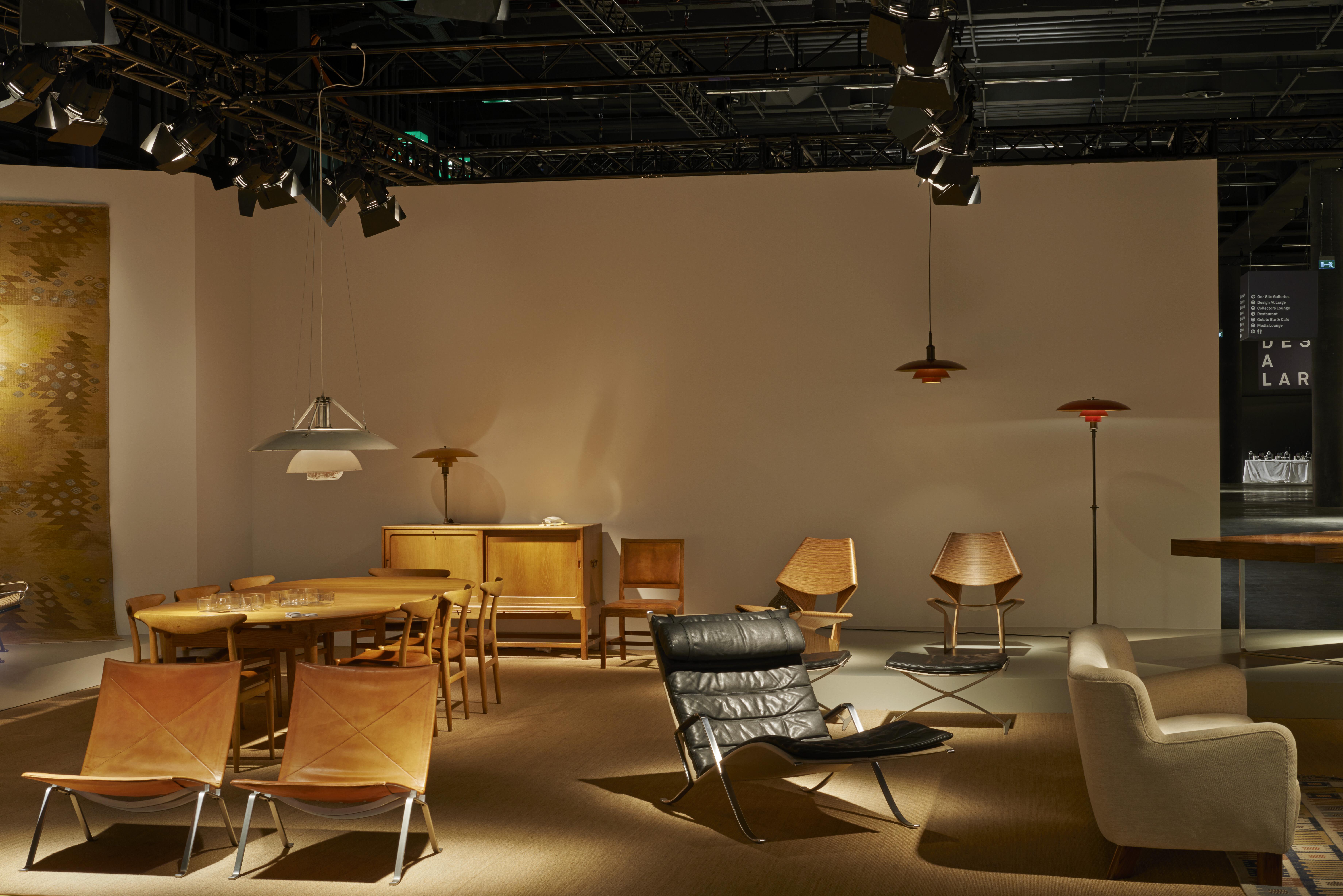 Mid 20th century: Dansk Mobelkunst Gallery, Copenhagen & Paris