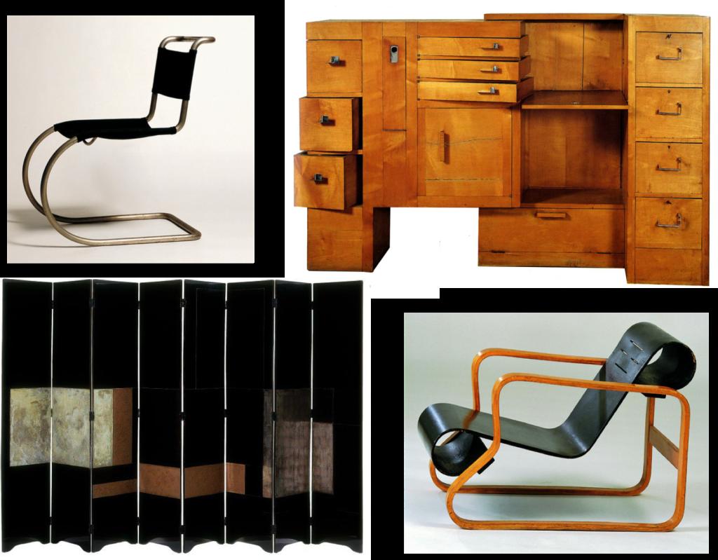 Furniture design 20's & 30's