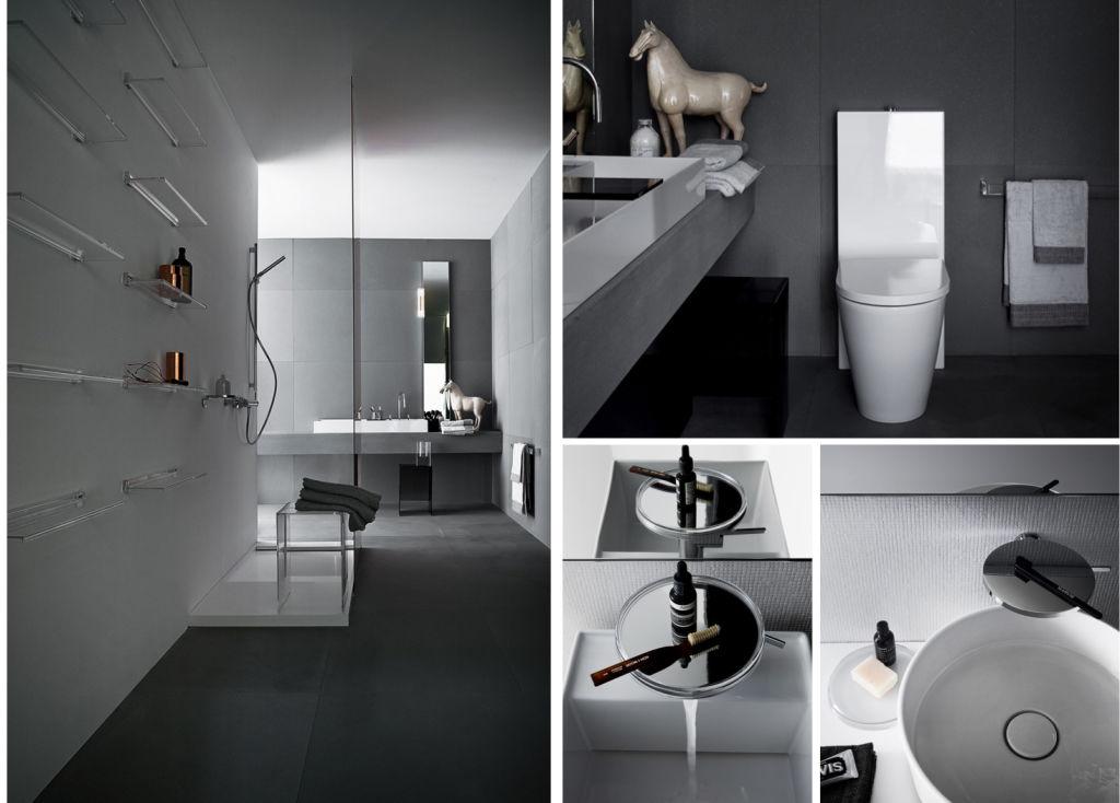 Grey bathroom design courtesy of Laufen Bathrooms (www.laufen.com)