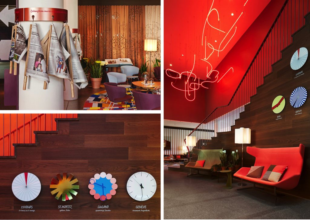 Photography: courtesy of 25h hotel Zürich West