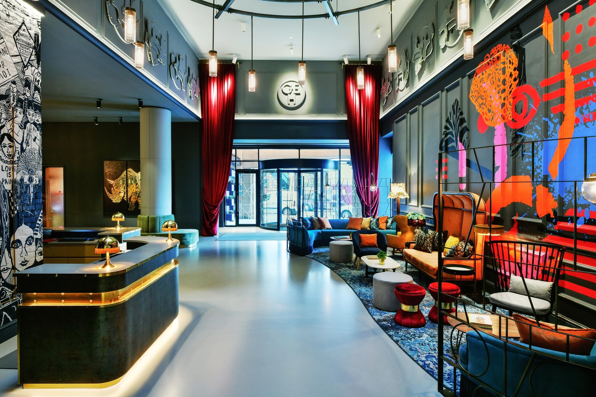 hotel lounge Andaz London