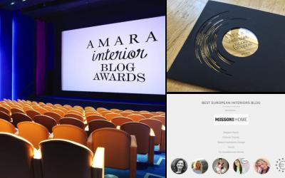 Amara Interior Blog Awards – the shortlist