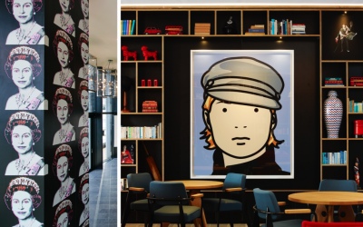 CitizenM Tower of London: Eclectic Design at its Best