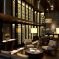 Wine library at The Chedi Andermatt