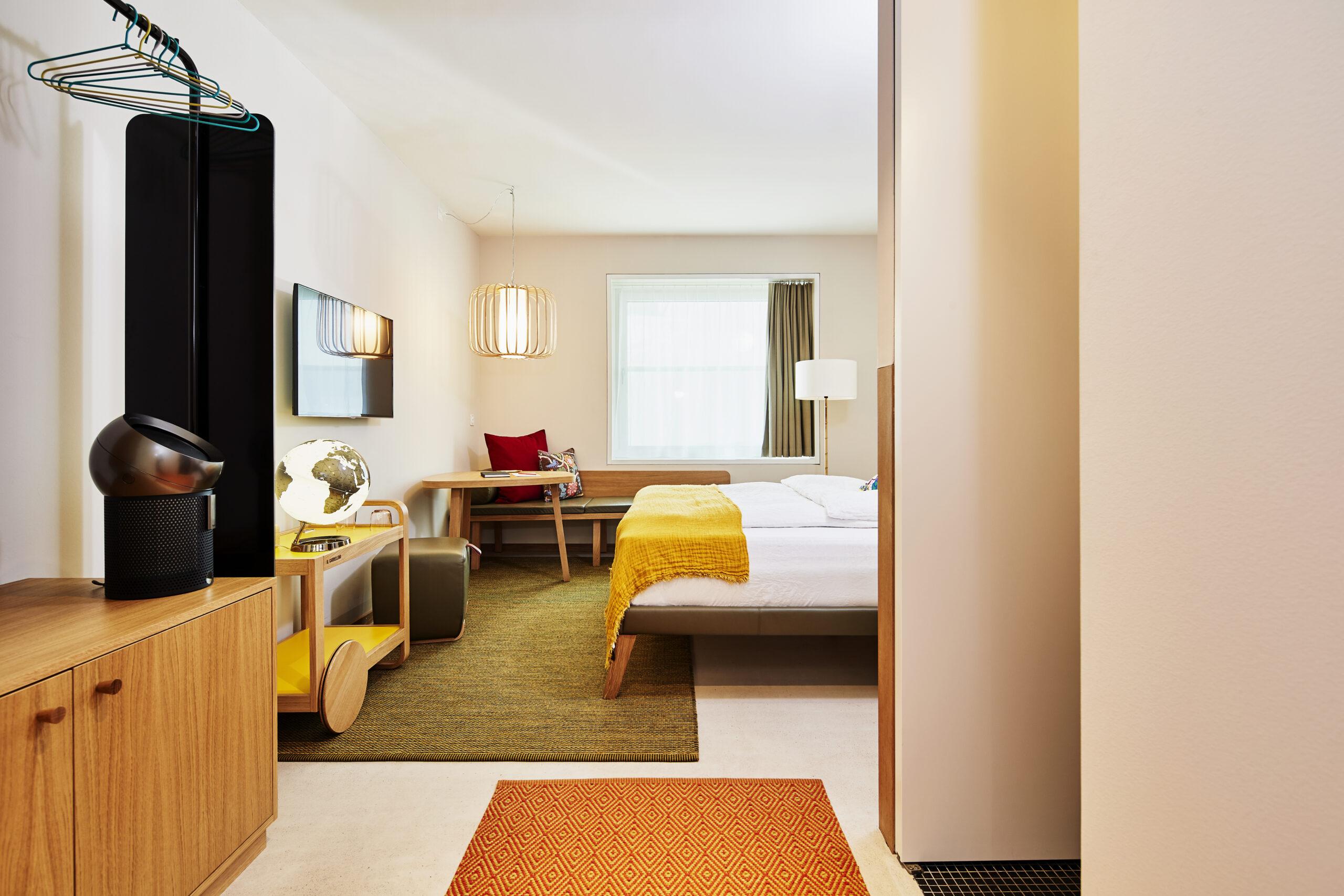 Bedroom design Hotel Nomad