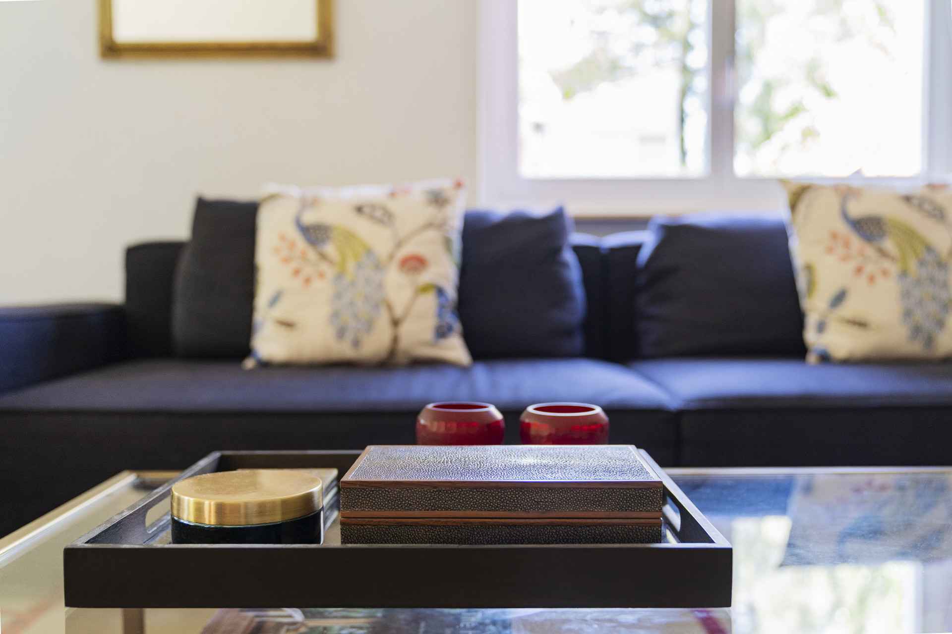 luxury decor and elegant embroidery