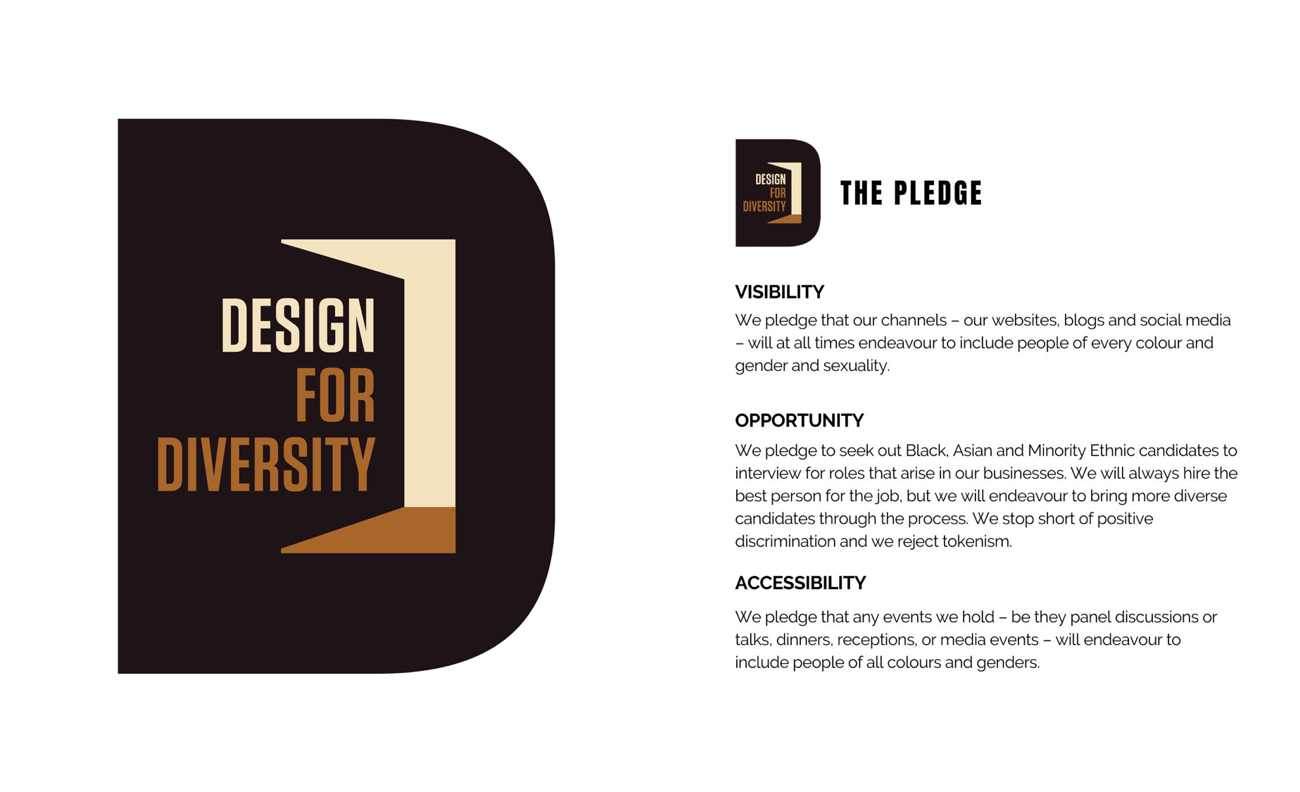 Design For Diversity The Pledge