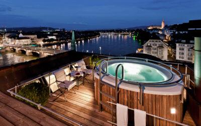 Les Trois Rois Basel_Roof Top Jacuzzi